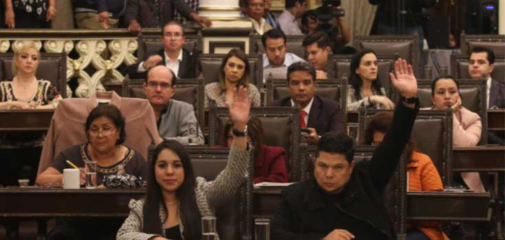 Congreso Local llama a comparecer al INE, IEE y TEEP
